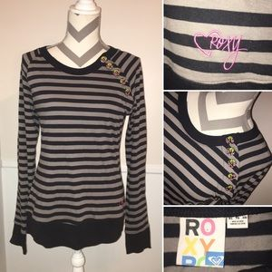 ROXY | Long sleeve striped pullover